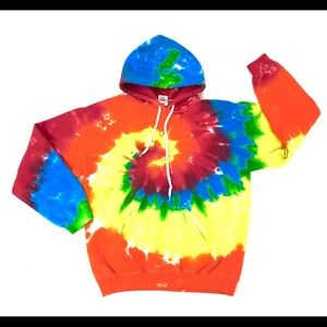 Gildan Tie-Dye Hoodie Sweatshirt